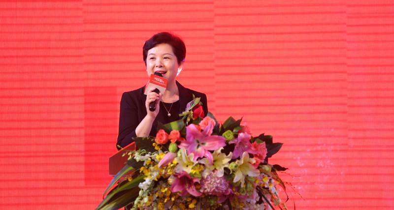集团总裁张翠玲女士致辞