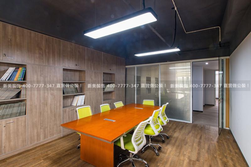 办公室空间布局效果图