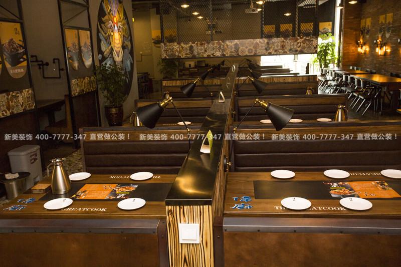 深圳餐厅装修 | 伟厨火锅餐饮空间