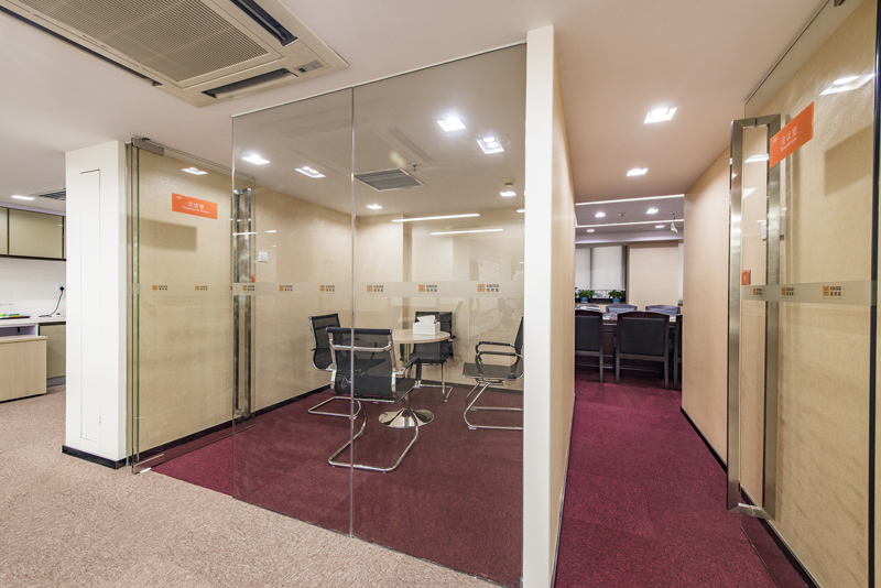 办公室装修隔断设计正确思路