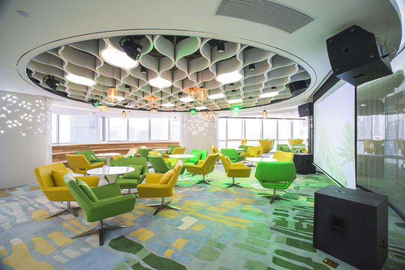 深圳办公室装修如何体现公司的企业文化