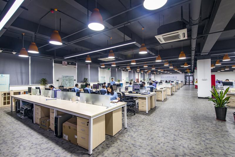 深圳办公室装修时墙壁怎么设计更好