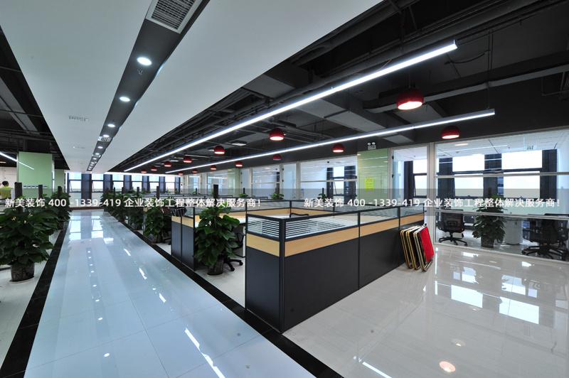 现代办公室装修大气实用的设计风格分享